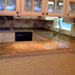 We install granite